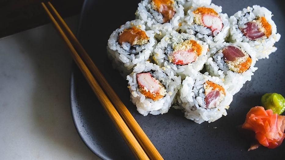 Ben's Original Website Sushi