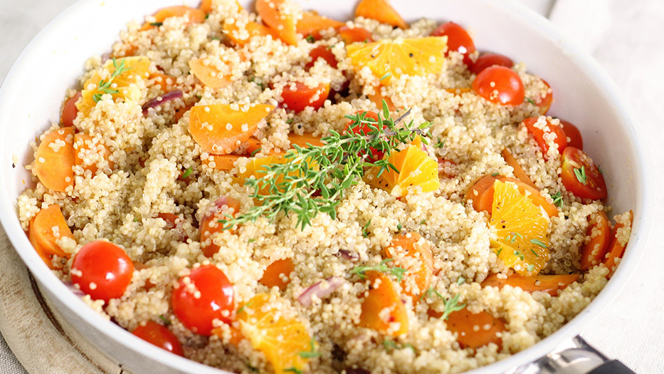 Ben's Original Website Quinoa in Bowl