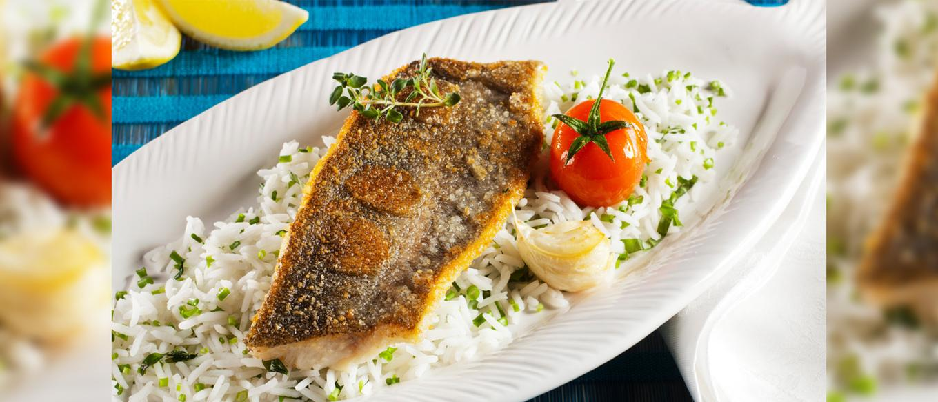 Ben's Original Website Grilled Trout Herb Rice Photography