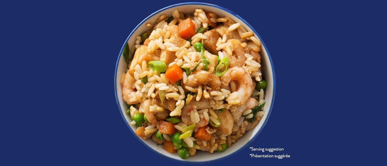 Bens Original Pork and Shrimp Fried Rice