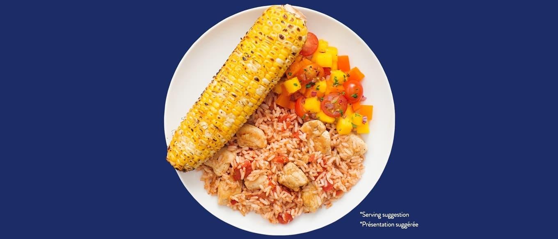 Bens Original Taco-Licious Chicken Skillet_Wholegrain Brown Rice