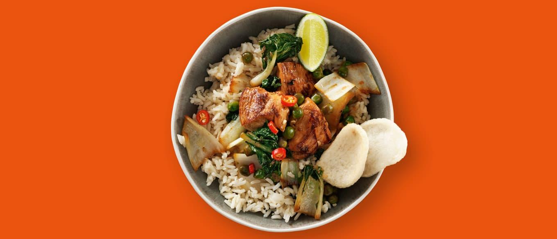 Hähnchen Teriyaki auf Reis Rezepte Ben's Original™