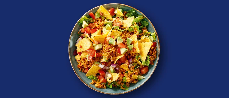 Knasende meksikansk salat med avokado og chili Ben's Original™