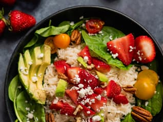 Ben's Original France Landing Page Basmati Rice Salad Image