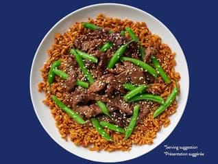 Bens Original Sesame Beef and Green Beans