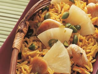 Ben's Original Website Indian Rice salad with Chicken Photography