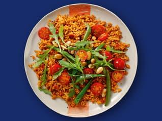 Mediterrane Reispfanne mit Rucola und Mandeln Rezepte Ben's Original™
