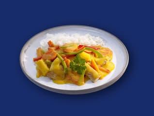 Cremiges Thai-Curry mit Reis und Gemüse Rezepte Ben's Original™