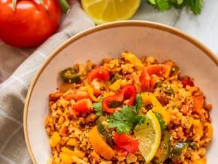 Ben's Original France Landing Page Mexican Cauliflower Rice Image