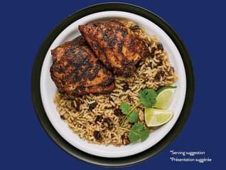 Bens Original Jerk Chicken_Cilantro_Lime Flavour Rice_Black Beans