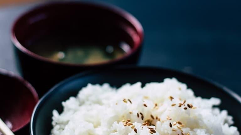Ben's Original Website Rice with Sesame Freeform Block