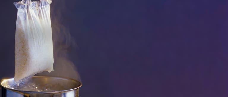 Ben's Original Boil in Bag Banner